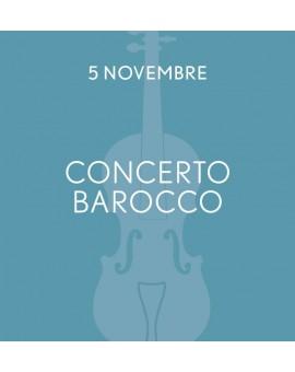 Voucher Aperitivo + Cena del Concerto del 5/11/2017